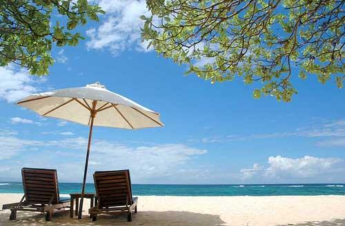 Privater Strand in Bali, Nusa Dua