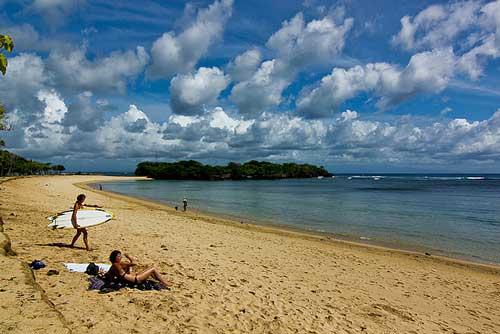 Nusa Dua Strand, Bali